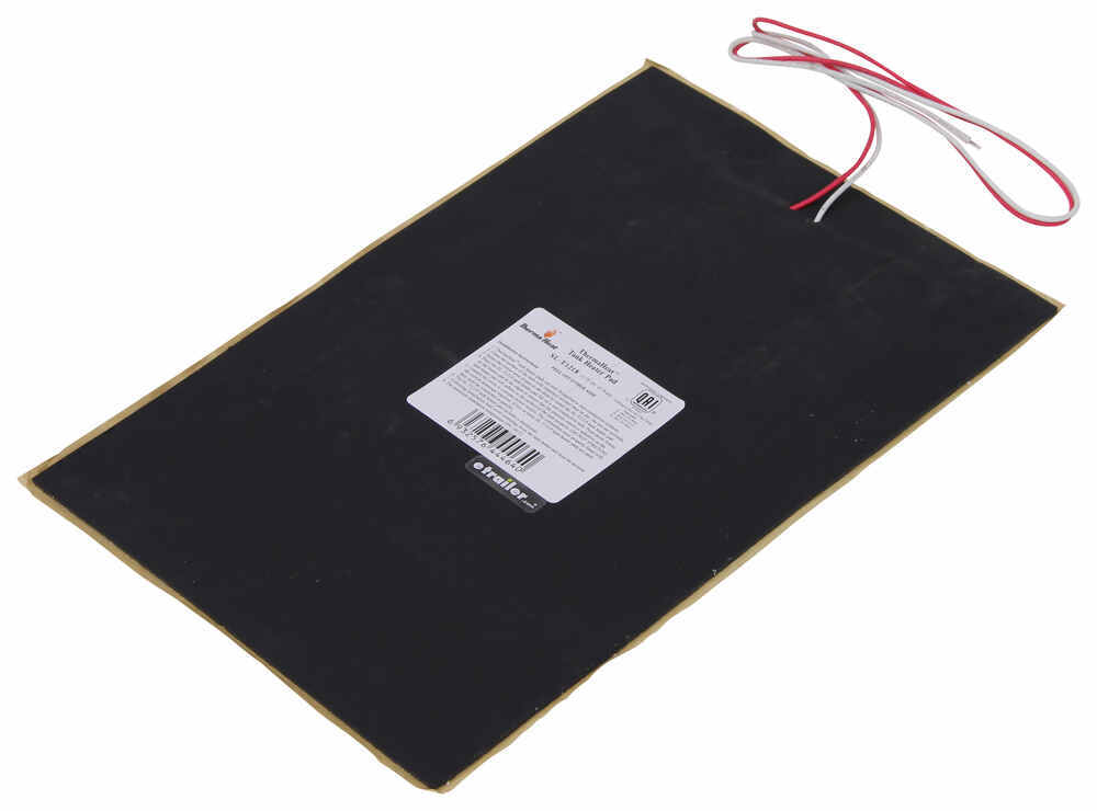 Thermaheat rv holding tank heater pad w thermostat