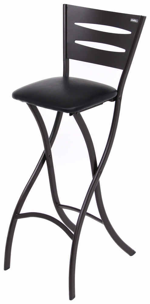 "Folding Counter Height Bar Stool - Black - 29"" Aussie RV Furniture 277-000203"