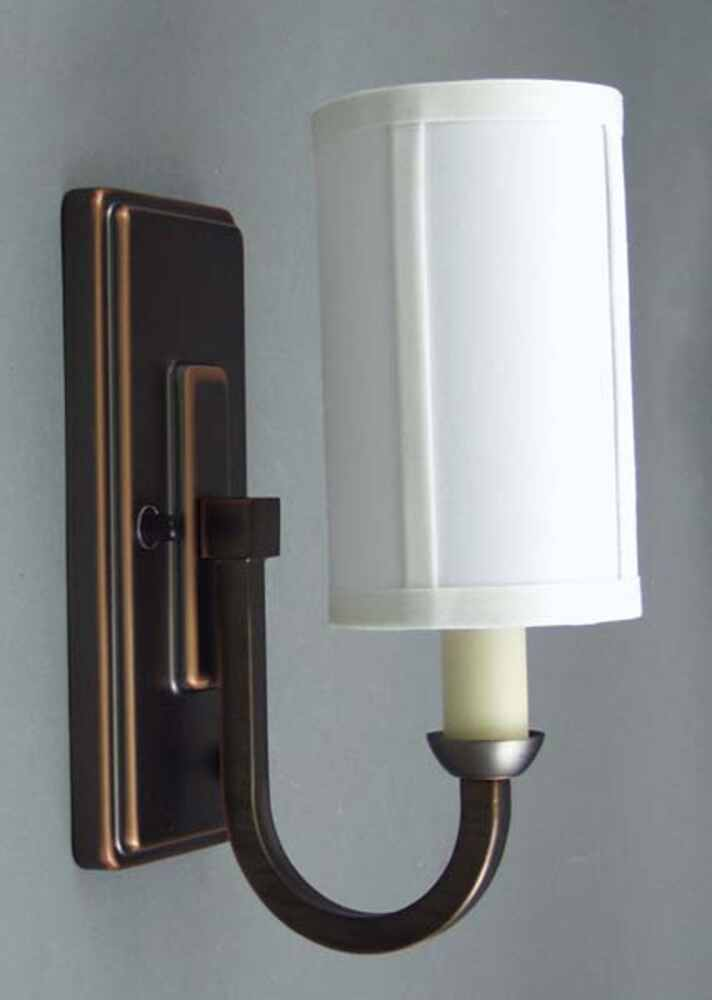 Gustafson RV Sidewall Light - Weathered Copper - Off White Shade Gustafson Lighting RV Lighting ...