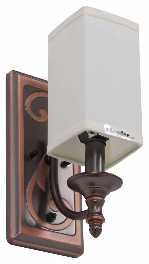 Rv Wall Lamp Shades : Gustafson RV Sidewall Light w/ Shade - Weathered Copper Gustafson Lighting RV Lighting 277 ...