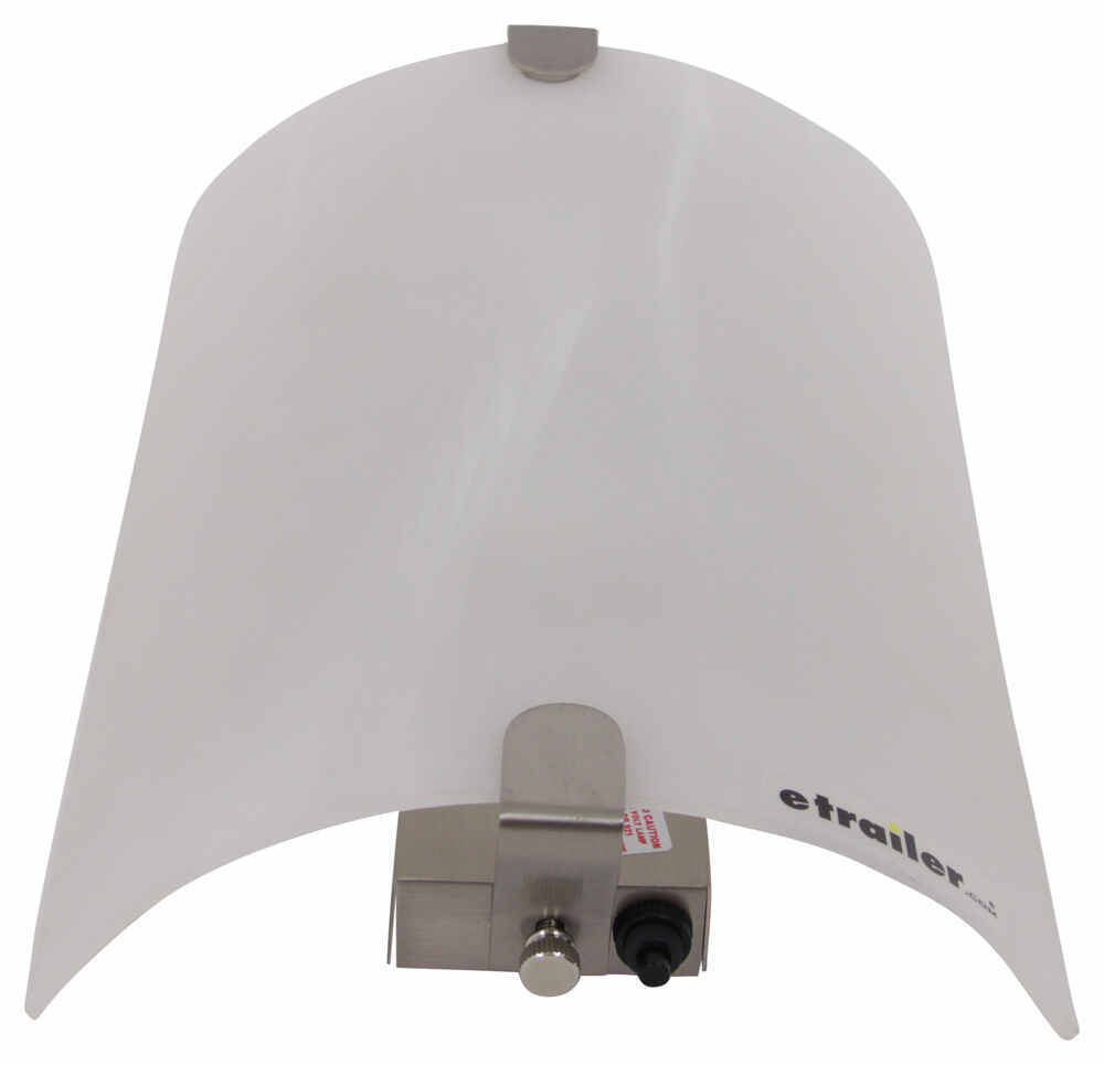 Rv Wall Lamp Shades : Gustafson RV Wall Sconce - Satin Nickel - White Acrylic Shade Gustafson Lighting RV Lighting 277 ...