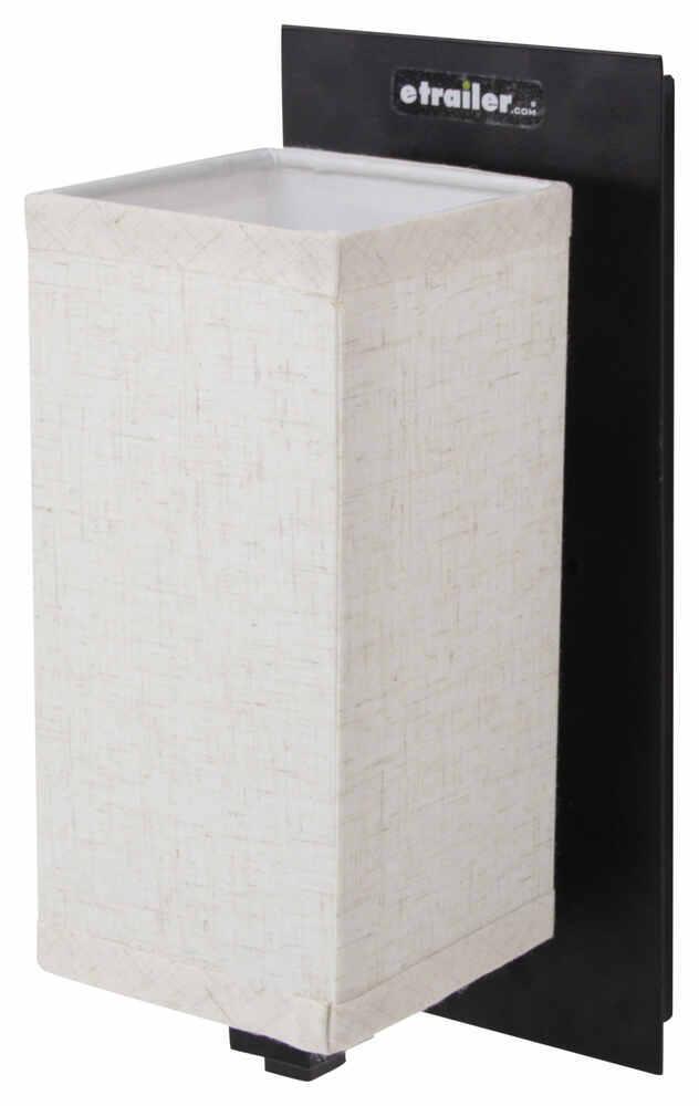 Rv Wall Lamp Shades : Gustafson RV Wall Light w/ Rectangular Shade - Flat Black Gustafson Lighting RV Lighting 277 ...