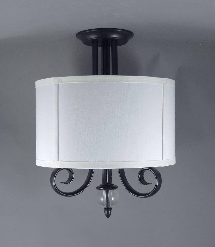 Gustafson RV Ceiling Light W/ Shade