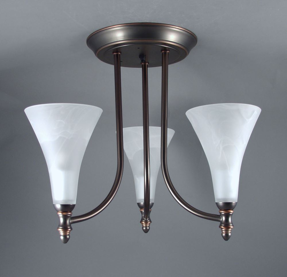 Gustafson Rv Chandelier Weathered Copper 3 Arm Frosted White Glass Gustafson Lighting Rv