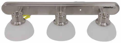 Satin Nickel Ceiling Lights Bathroom Vanity Chandelier: Gustafson RV Vanity Light