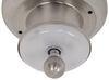 "Gustafson RV Ceiling Light - Satin Nickel - 5"" - LED Light Bases 277-000328"