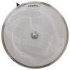 gustafson lighting rv ceiling light 10 inch diameter w/ glass shade - satin nickel led