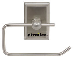 Gustafson RV Toilet Paper Holder - Satin Nickel - Rectangular Base
