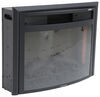 324-000066 - 26 Inch Wide Greystone Recessed Mount Fireplace