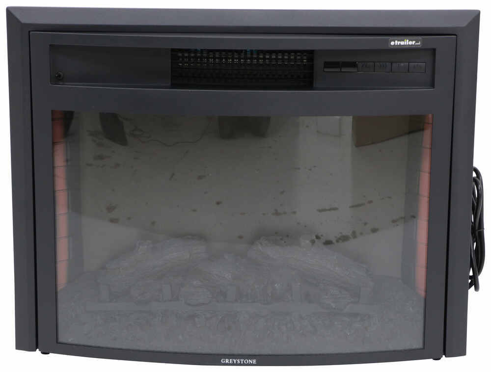 Greystone 26 Quot Curved Electric Fireplace With Remote
