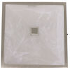 Gustafson RV LED Ceiling Light - Square - Satin Nickel - White Glass Satin Nickel 277-000424