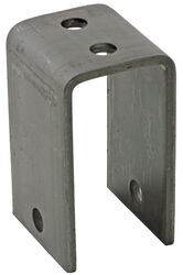 "Front Hanger for 2"" Wide Slipper Springs - 4-1/4"" Tall - 9/16"" Bolt Hole"