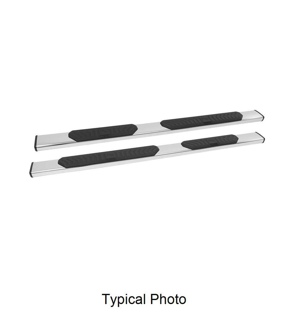 """Westin R5 Nerf Bars - 5"""" Wide - Polished Stainless Steel ..."""