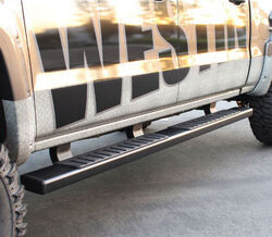 "Westin R7 Nerf Bars - 7"" Wide - Black Powder Coated Steel"