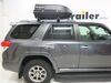 Car Top Cargo Extra Short Length Roof Box - 283-RBSM on 2012 Toyota 4Runner