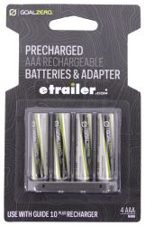 Goal Zero AAA Batteries - Rechargeable - Qty 4
