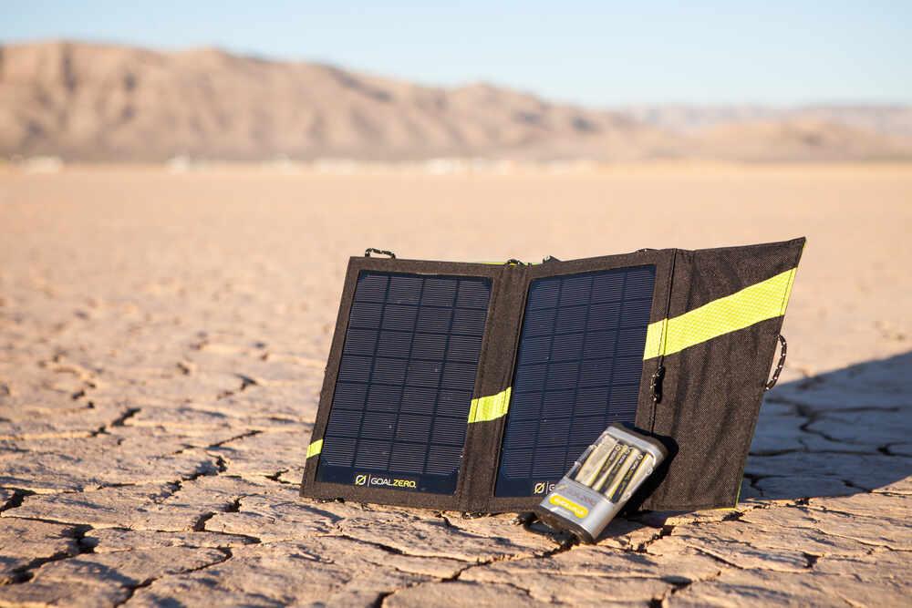 Goal Zero Guide 10 Plus Solar Recharging Kit Goal Zero ...