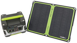 Goal Zero Yeti 150 Solar Generator with Nomad 14 Plus Solar Panel - 110 Volts
