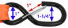 etrailer ratchet straps safety hooks 11 - 20 feet long dimensions