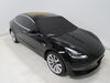 288-06603 - Black etrailer Vehicle Covers on 2018 Tesla Model 3