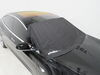 288-06603 - Black etrailer Windshield Covers on 2018 Tesla Model 3