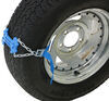 Tyre Mount Emergency Strap-On Tire Chains with Traction Platforms - Qty 2 288-07413