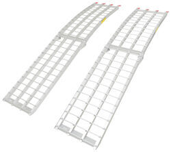 "Arched Loading Ramp Set - Center Fold - Aluminum - 90"" Long x 18"" Wide - 3,000 lbs"