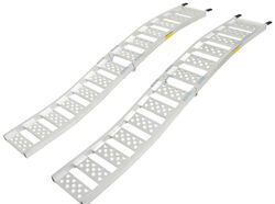 "Arched Loading Ramp Set - Center Fold - Aluminum - 88-9/16"" Long x 13"" Wide - 1.5K"