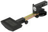 "Extendable Hitch Mounted Step for 2"" Hitches - Steel - Black - 500 lbs"