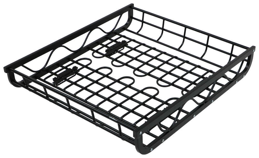 aluminum roof mounted cargo basket 44 long x 39 wide x 7 deep Chevy Nova Art aluminum roof mounted cargo basket 44 long x 39 wide x 7 deep 150 lbs stallion roof basket 288 09200