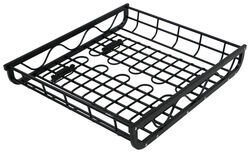 "Aluminum Roof Mounted Cargo Basket - 44"" Long x 39"" Wide x 7"" Deep - 150 lbs"