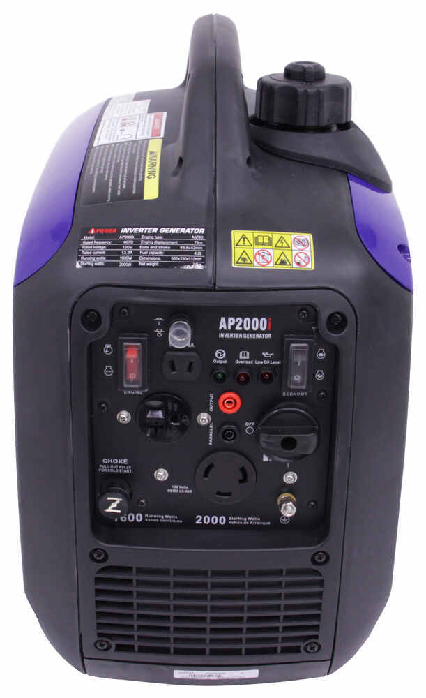 A Ipower 2 000 Watt Inverter Generator W Parallel Kit