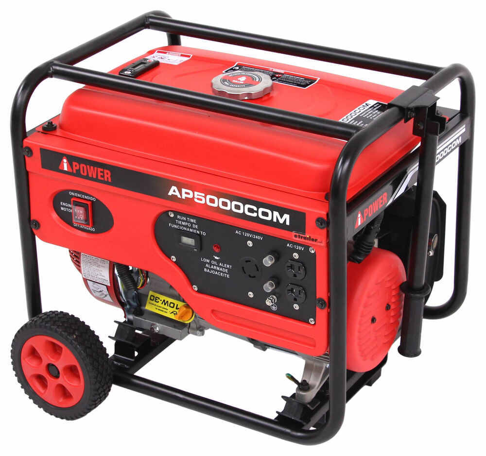 A-iPower 5,000-Watt Portable Generator - 4,000 Running Watts