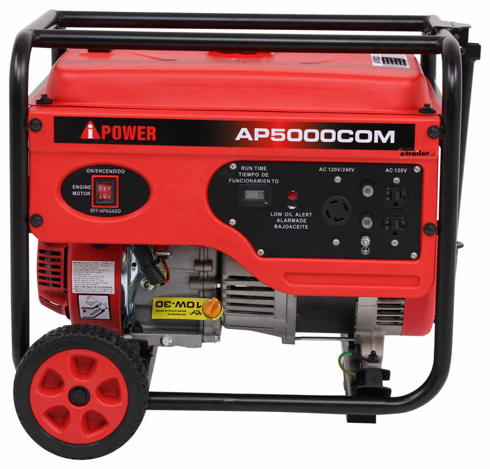 A Ipower 5000 Watt Portable Generator 4000 Running Watts Gas 7500 Wiring Diagram And Parts List Manual Start Generators 289 Ap5000