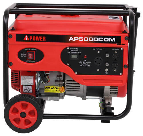 A Ipower 5 000 Watt Portable Generator 4 000 Running