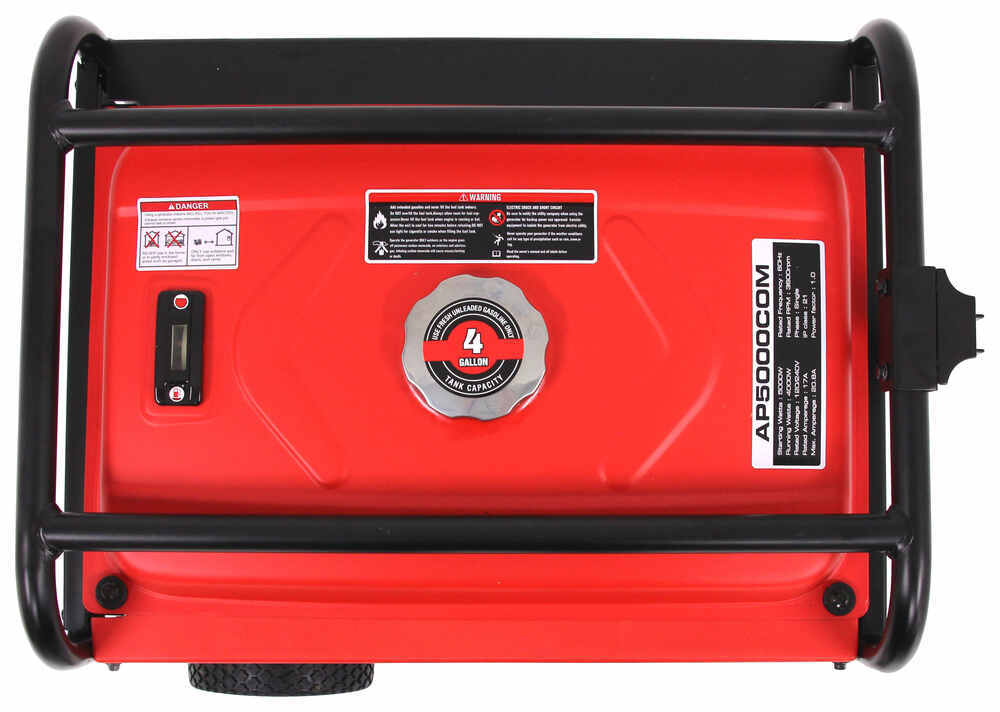 A-iPower 5,000-Watt Portable Generator - 4,000 Running Watts - Gas