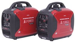 A-iPower 4,000-Watt Portable Inverter Generators - 3,200 Running Watts - Gas - Manual Start