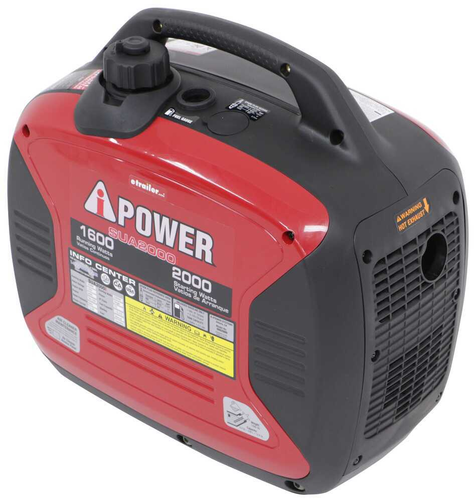 A-iPower 2,000-Watt Portable Inverter Generator - 1,600