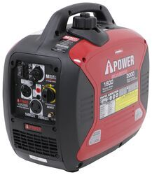 A-iPower 2,000-Watt Portable Inverter Generator - 1,600 Running Watts - Gas - Manual Start