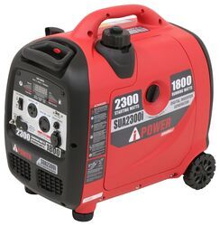 A-iPower 2,300-Watt Portable Inverter Generator - 1,800 Running Watts - Gas - Manual Start
