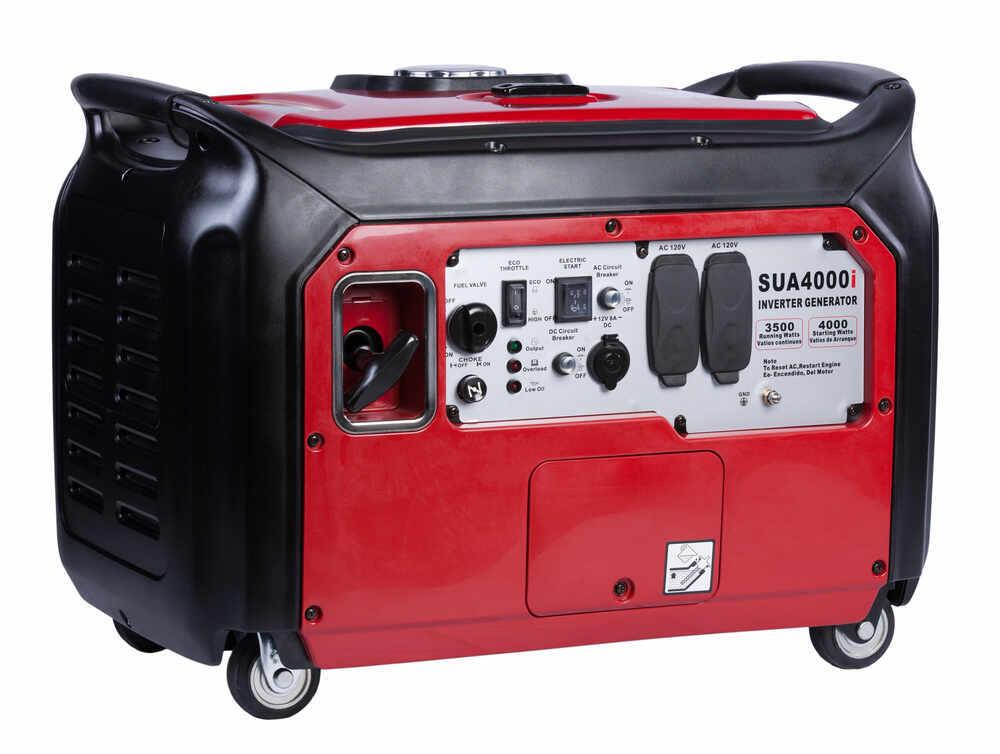 A Ipower 4 000 Watt Inverter Generator Portable Gas