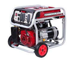 A-iPower 4,500-Watt Portable Generator - 3,500 Running Watts - Gas - Manual Start