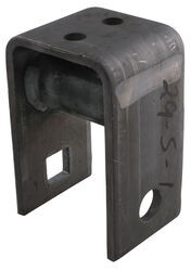 "Center Hanger for 2"" Wide Slipper Springs - 4-1/2"" Tall - 7/8"" Bolt Hole"