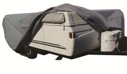 Adco SFS AquaShed RV Cover for Pop-Up Camper - Up to 14' Long - Gray