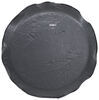 "Adco Spare Tire Cover - 27"" Diameter - Vinyl - Black Spare Tire Cover 290-1737"