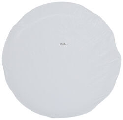 "Adco Spare Tire Cover - 27"" Diameter - Vinyl - White"