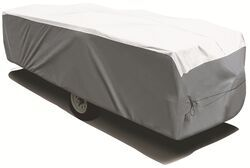 Adco Tyvek All-Climate + Wind RV Cover for Pop-Up Camper - Up to 16' Long -  Gray