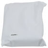 Adco Deluxe RV Windshield Cover for Class C Motorhome - Vinyl - White White 290-2503
