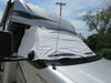 Adco RV Windshield Cover for Class C Motorhome - Vinyl - White White 290-2407