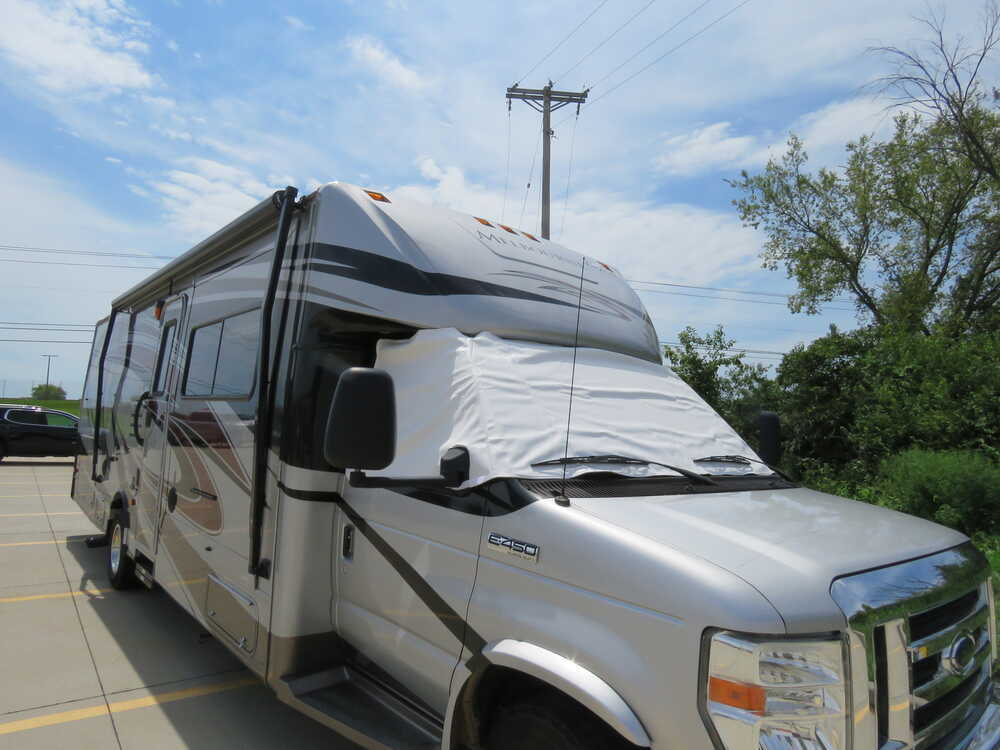 Adco RV Windshield Cover for Class C Motorhome - Vinyl